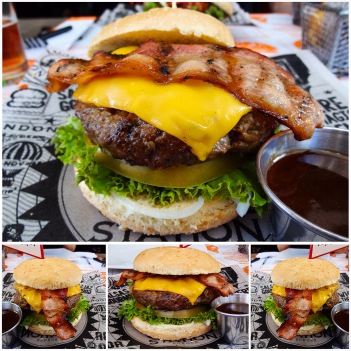hamburguesa grill station