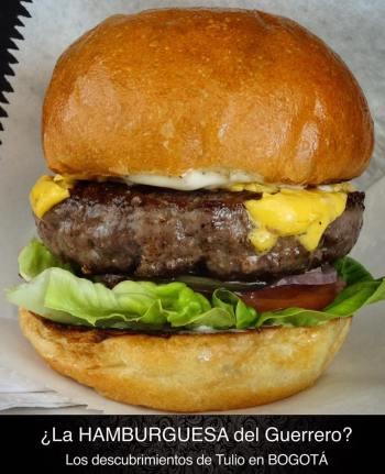guerrero burger bogota compañia sanduches
