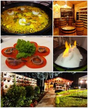 La mejor cocina española en medellin masia
