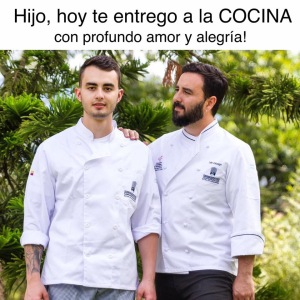 HIJO HOY TE ENTREGO A LA COCINA MARIANO MORENO